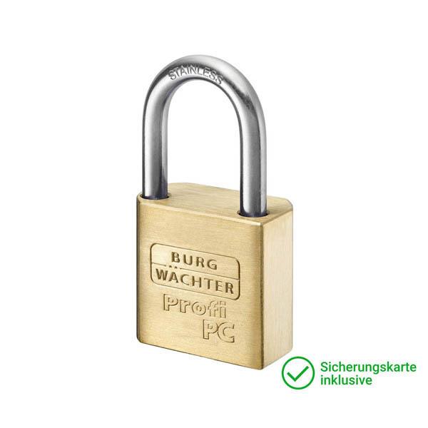 BURG-WÄCHTER GERA ISEO Vorhangschloss Schließzylinder für Schließanlagen + Gleichschließungen