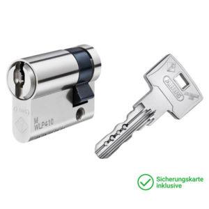 ABUS Wavy Line Pro Halbzylinder mit Schlüssel Schließzylinder für Schließanlagen + Gleichschließungen