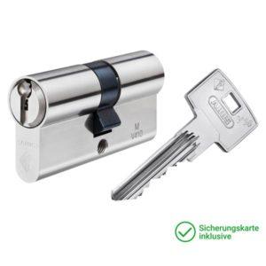 ABUS V14 Doppelzylinder mit Schlüssel Schließzylinder für Schließanlagen + Gleichschließungen