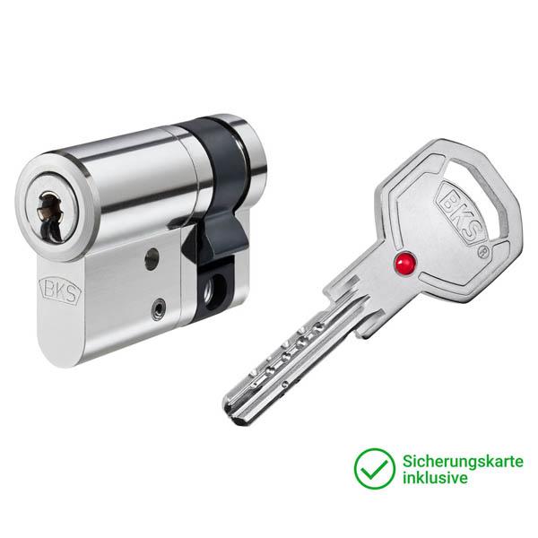BKS Janus Serie 46 Halbzylinder mit Schlüssel Schließzylinder für Schließanlagen + Gleichschließungen