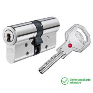 BKS Janus Serie 46 Doppelzylinder mit Schlüssel Schließzylinder für Schließanlagen + Gleichschließungen