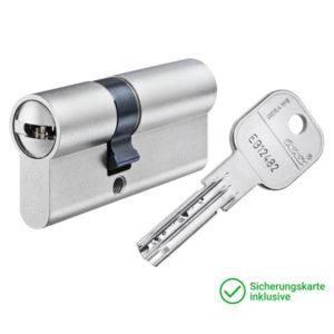 GERA WS MC Doppelzylinder mit Schlüssel Schließzylinder für Schließanlagen + Gleichschließungen