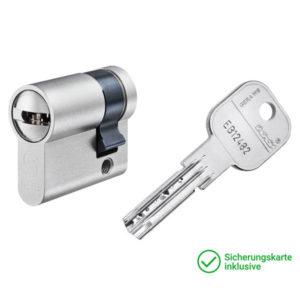 GERA WS MC Halbzylinder mit Schlüssel Schließzylinder für Schließanlagen + Gleichschließungen
