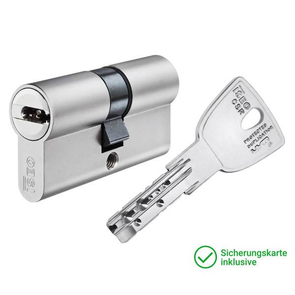 ISEO CSR R9 Doppelzylinder mit Schlüssel Schließzylinder für Schließanlagen + Gleichschließungen