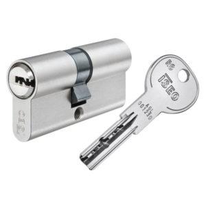 ISEO R6 Doppelzylinder mit Schlüssel Schließzylinder für Schließanlagen + Gleichschließungen