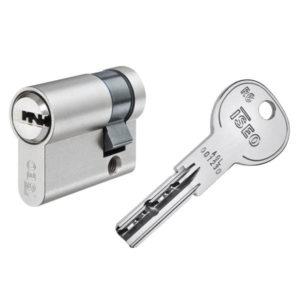 ISEO R6 Halbzylinder mit Schlüssel Schließzylinder für Schließanlagen + Gleichschließungen