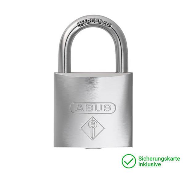 ABUS Vorhangschloss Schließzylinder für Schließanlagen + Gleichschließungen